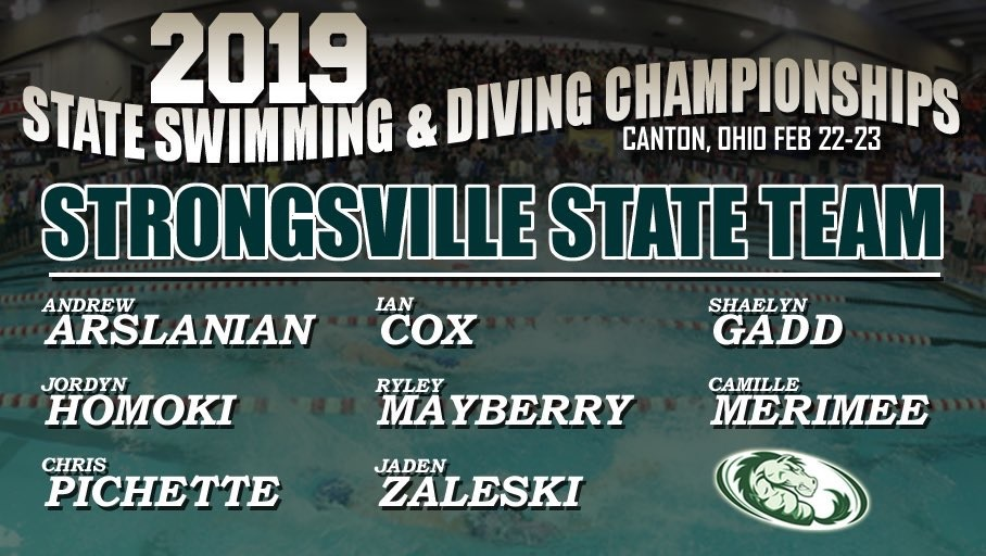 MUSTANG SWIMMERS QUALIFY FOR STATE MEET IN CANTON