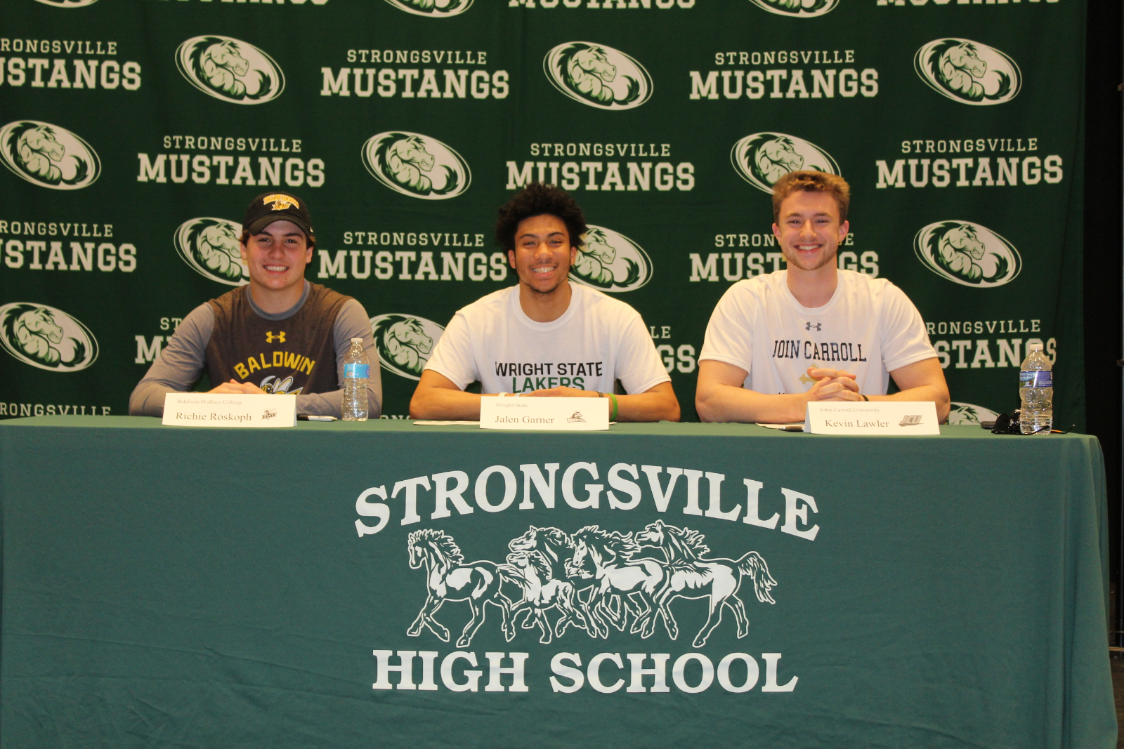 3 Athletes Sign Letters of Intent