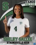 Sallee Becomes All-Time Goal Scorer
