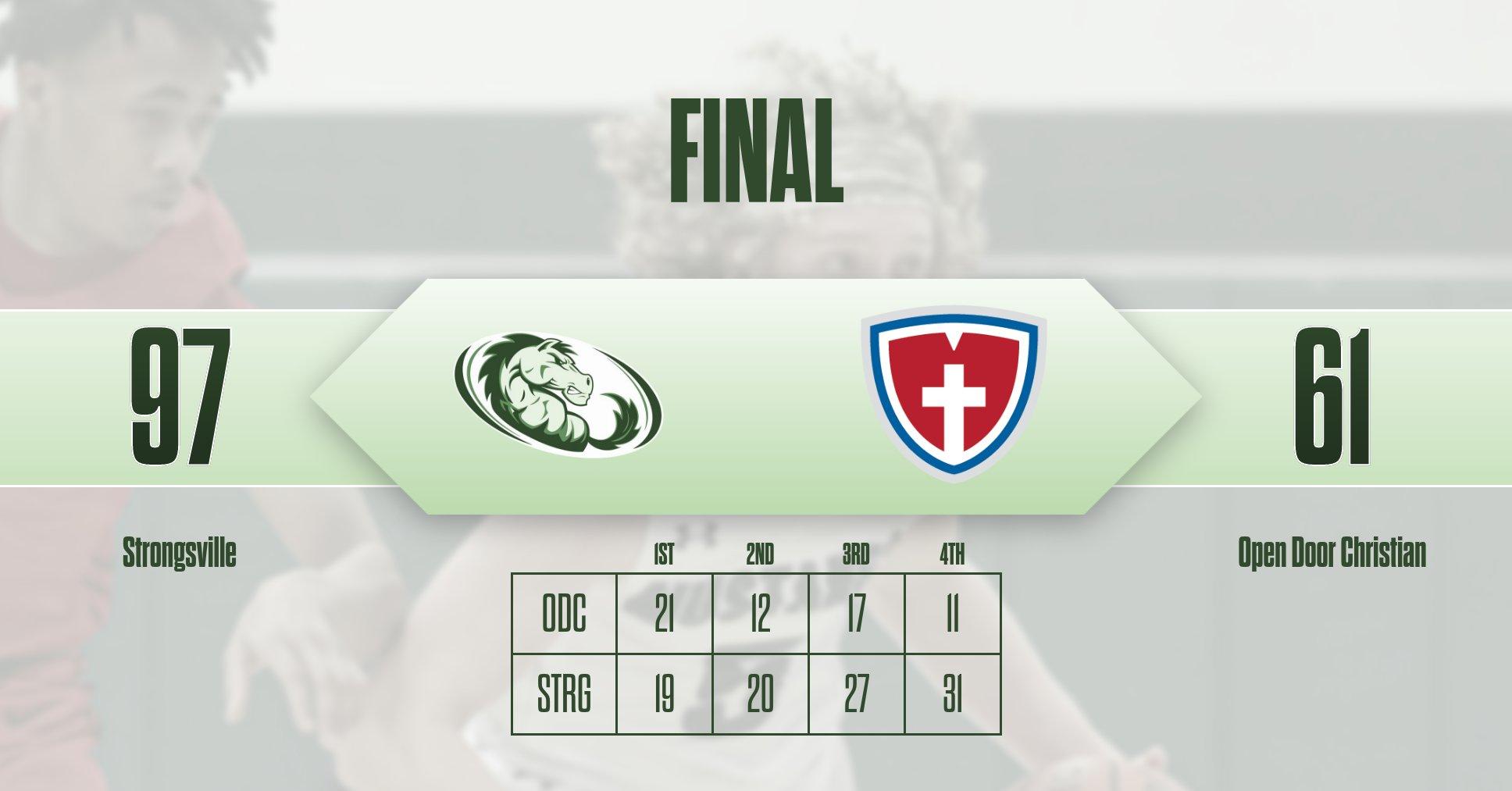 Wypasek breaks school record while Mustangs roll to Victory!