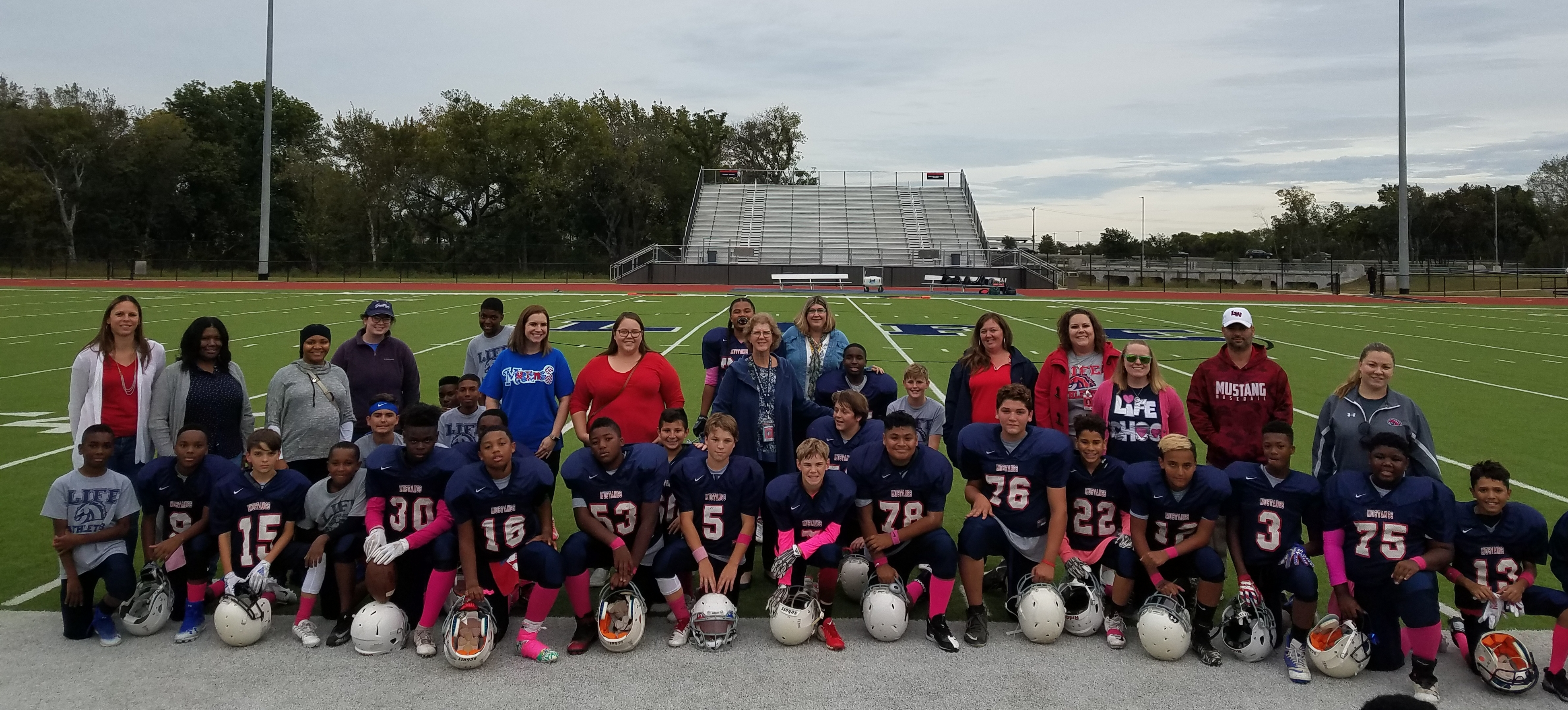 Teacher Appreciation- 7th Grade Football