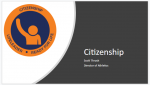 Life Leader Weekly Statement- Citizenship
