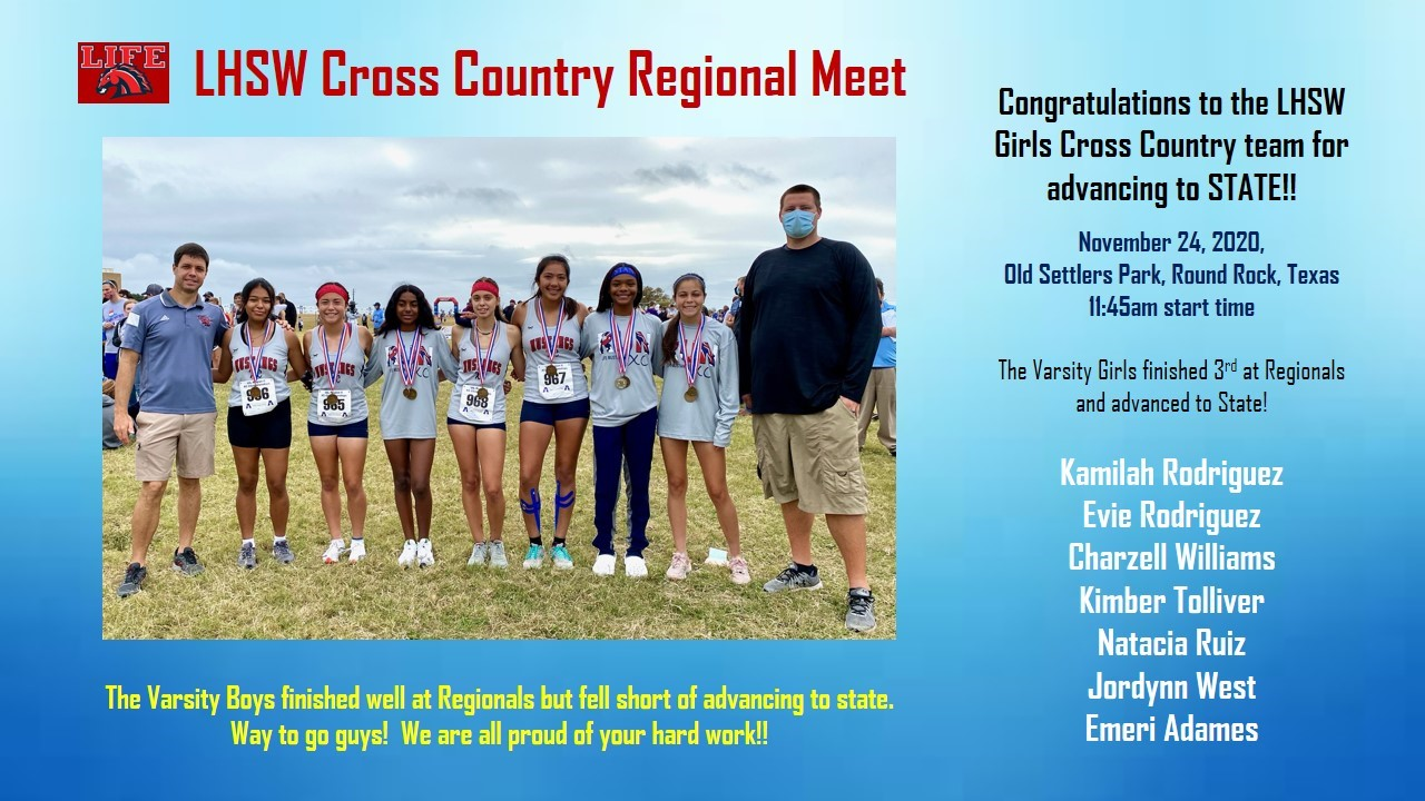 Heading to UIL State Cross Country