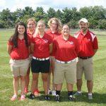 West Noble High School Girls Varsity Golf falls to Fremont High School 237-207