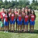 West Noble High School Girls Varsity Cross Country finishes 14th place