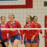 West Noble High School Girls Varsity Volleyball beat Tippecanoe Valley High School 3-0