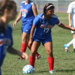 West Noble High School Girls Varsity Soccer falls to Angola High School 1-2