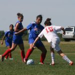 West Noble High School Girls Varsity Soccer beat Whitko High School 4-1