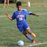 West Noble High School Boys Varsity Soccer beat Lakeland High School 4-1