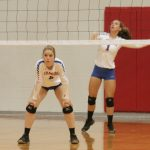 West Noble High School Girls Varsity Volleyball falls to Westview High School 0-3