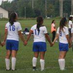 West Noble High School Girls Varsity Soccer beat Elkhart Christian Academy 3-2