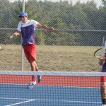 West Noble High School Boys Varsity Tennis beat Lakeland High School 5-0