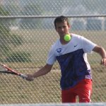 West Noble High School Boys Varsity Tennis beat East Noble High School 4-1