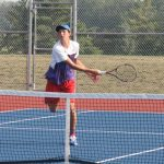 West Noble Edged By Hornets in Tennis Action