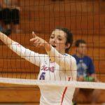 West Noble High School Girls Varsity Volleyball falls to Garrett High School 2-3