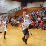 West Noble High School Girls Varsity Basketball beat Bethany Christian High School 55-25