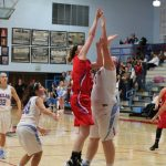 West Noble High School Girls Varsity Basketball beat Lakeland High School 57-41