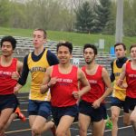 Chargers Fall to Falcons in Boys Track