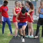Chargers Fall To Lakers in Track