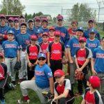 West Noble High School Junior Varsity Baseball beat Fairfield High School 10-7
