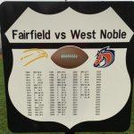 West Noble High School Varsity Football beat Fairfield High School 38-14