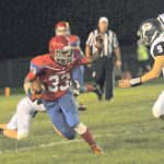 West Noble High School Varsity Football falls to Garrett High School 42-19