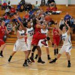 West Noble High School Girls Varsity Basketball beat Bethany Christian High School 38-35