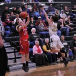 West Noble High School Girls Varsity Basketball beat Wawasee High School 53-51