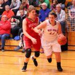 West Noble High School Girls Varsity Basketball beat Westview High School 58-38