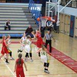 West Noble High School Girls Varsity Basketball falls to Tippy Valley 56-33