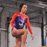Knights Top Chargers in Gymnastics