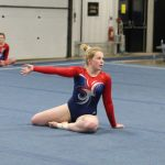 West Noble High School Girls Varsity Gymnastics finishes 2nd place