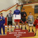 Charger Wrestlers Compete at Sectional; Rasler Sectional Champ