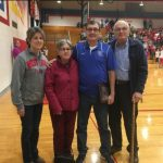 West Noble Recognizes Longtime XC/Track coach Chuck Schlemmer
