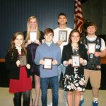 West Noble Honors Winter Athletes