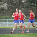 Fairfield Tops West Noble in Boys Track