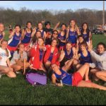 West Noble Tops Fairfield in Girls Track