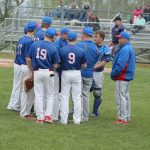 West Noble High School Junior Varsity Baseball beat Fairfield High School 13-8