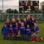 West Noble High School Varsity Softball beat John Glenn High School 11-1