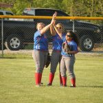 West Noble High School Varsity Softball falls to Fairfield High School 10-0