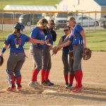 West Noble High School Varsity Softball falls to Churubusco High School 11-4