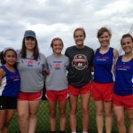 Lady Chargers Compete at Regional Track Meet
