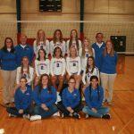 West Noble High School Girls Varsity Volleyball falls to vs Goshen HS 3-2