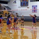 West Noble High School Girls Junior Varsity Volleyball falls to East Noble High School 2-1