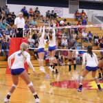 West Noble High School Girls Varsity Volleyball beat Tippecanoe Valley High School 3-1