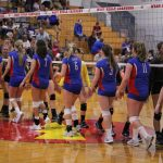 West Noble High School Girls Junior Varsity Volleyball falls to Fremont 2-0