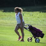 West Noble High School Girls Varsity Golf beat Goshen High School 210-232
