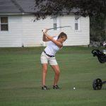 West Noble High School Girls Varsity Golf beat Prairie Heights High School 205-257