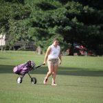 West Noble High School Girls Varsity Golf beat Westview High School 207-223