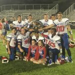 West Beats Central In Varsity Football 32-14